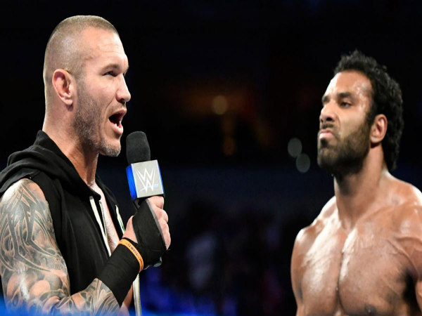 Randy Orton (left) and Jinder Mahal (Image courtesy: wwe.com)