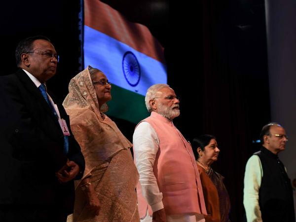 Bangladesh PM Sheikh Hasina's visit to India - Oneindia News