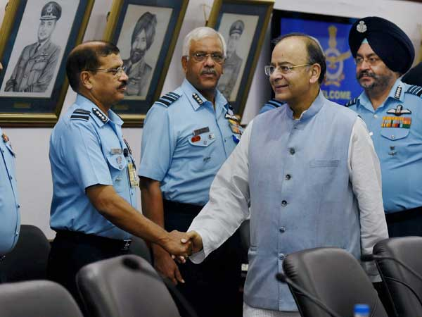 Jaitley commended IAF for conducting military exercises