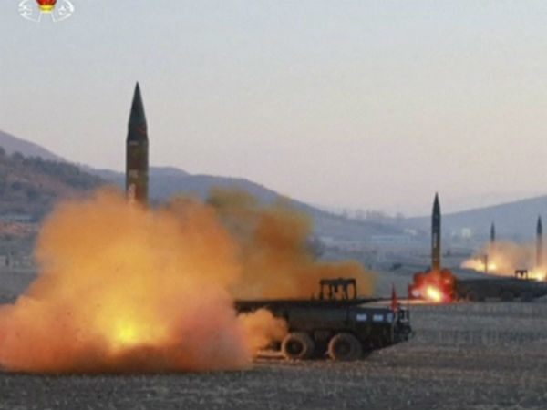 North Korean missile test fails, say US and South Korea