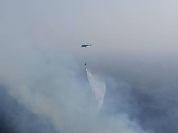 Massive fire in Mt Abu forests, IAF choppers swing into action