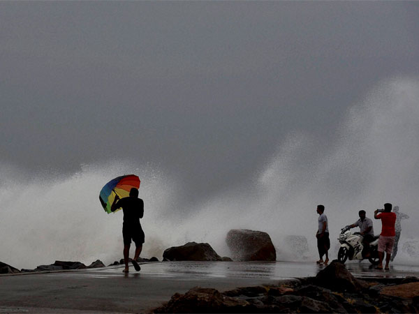 The cyclone is expected to bring torrential rain and winds gusting at up to 150 km per hour.