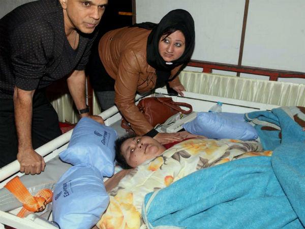 Doctors from Abu Dhabi visits world's heaviest woman Eman in Mumbai