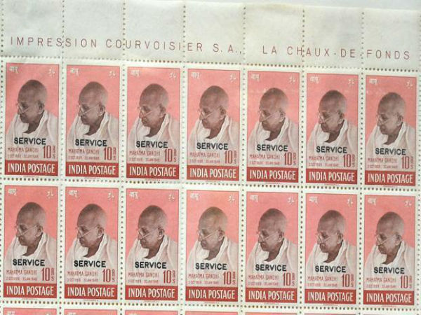 Rare 1948 Gandhi stamps sold in London