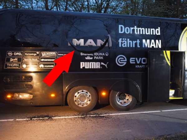 Explosions hit German football team bus: One player injured