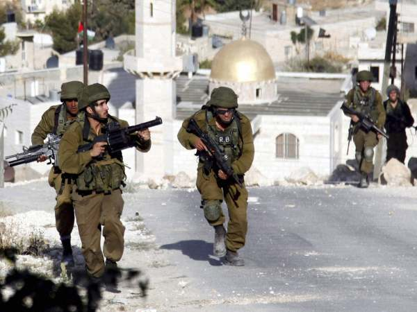File photo of Israeli forces in action against Hamas