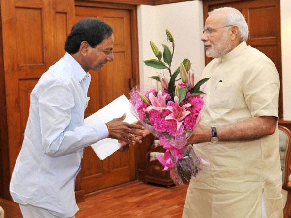Telangana CM meets PM, seeks Centre's nod for quota bill