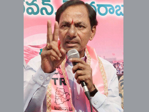 File photo of Telangana Chief Minister K Chandrasekhar Rao