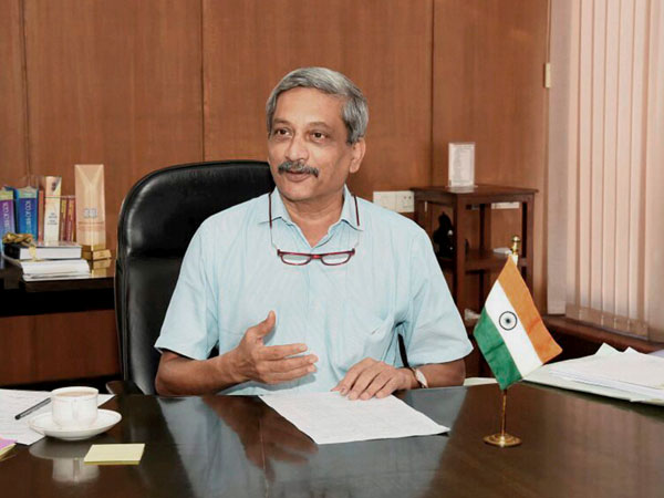 File photo of Goa Chief Minister Manohar Parrikar