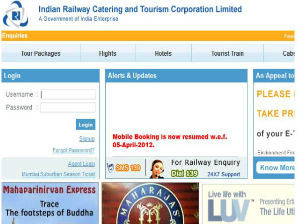 No service charge on online train ticket booking till June 30