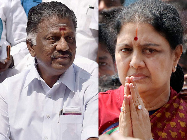 File Photo of Panneerselvam and Sasikala