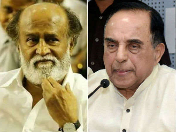 Rajinikanth should not join politics as he's involved in fraud, says Subramanian Swamy