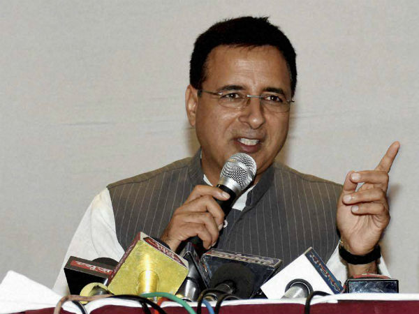 Congress leader Randeep Surjewala. PTI file photo