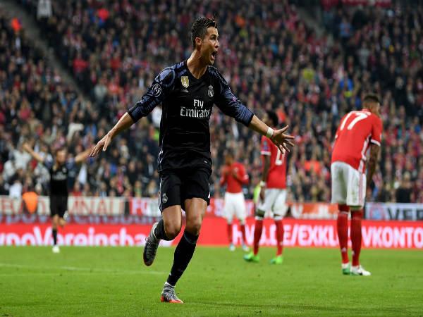 UCL: Ronaldo hits 100th European goal as Real Madrid beat Bayern Munich 2-1