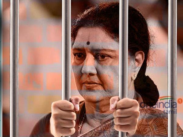 Sasikala seeks parole to meet her ailing husband