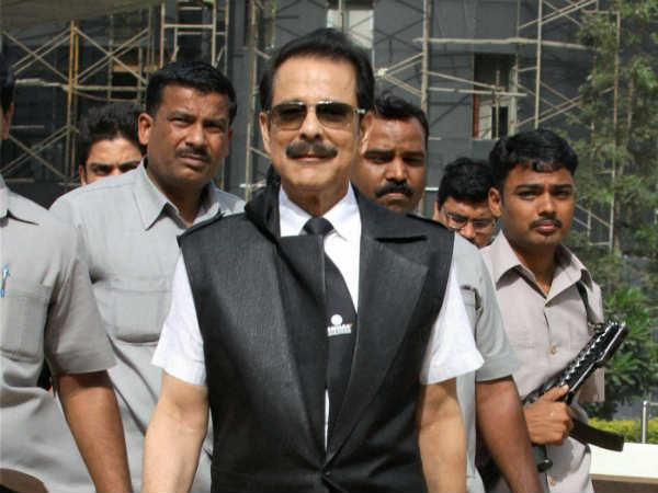 File Photo of Subrata Roy