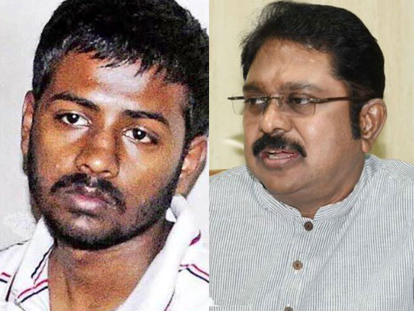 Sukesh Chandrasekar and TTV Dinakaran