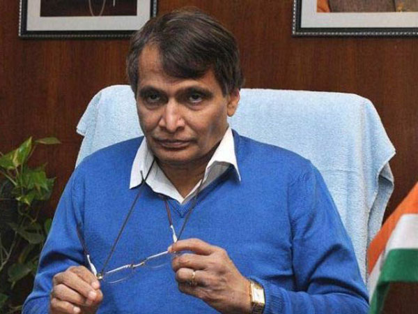 File photo of Railway Minister Suresh Prabhu