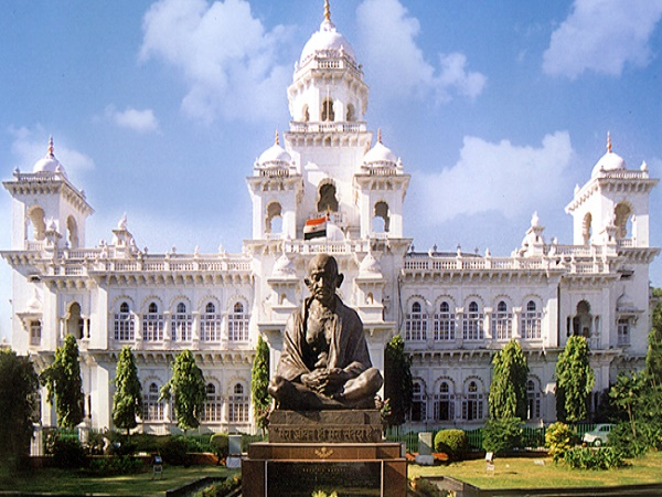 Amid Cong din, Telangana legislature passes Land bill