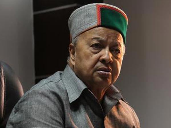 File photo of Himachal Pradesh Chief Minister Virbhadra Singh