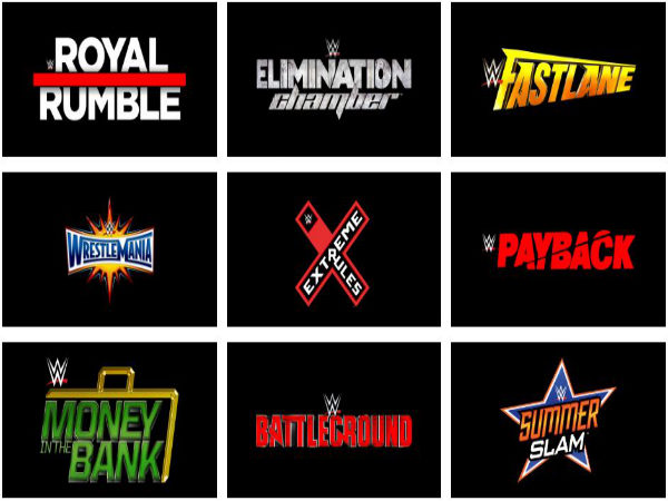 Full list and details of WWE PPVs for 2017