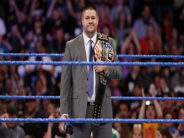 Kevin Owens on Smackdown Live (Image courtesy: wwe.com)