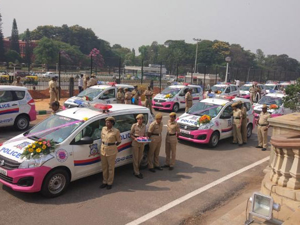 CM launches pink patrols, app for citizens in distress