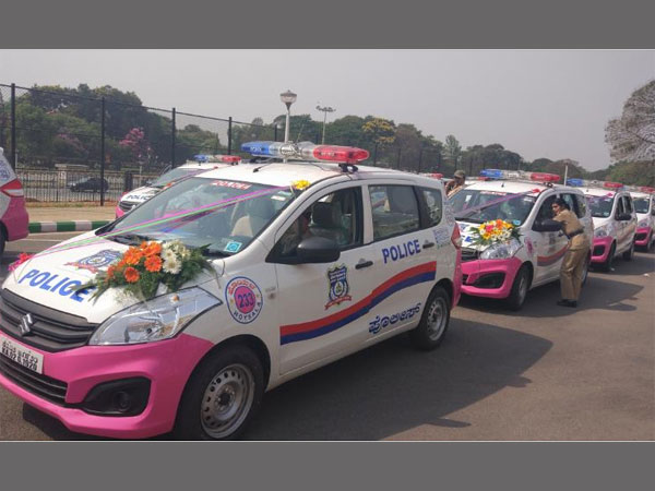 Pink Hoysalas deployed by Bengaluru City Police for women, children safety