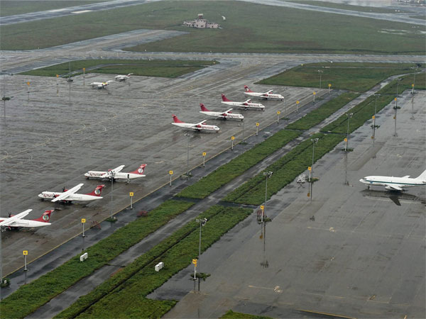 Cyclonic wind damages Bhubaneswar airport. (Representational image)