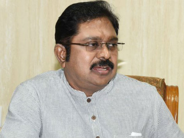 TTV Dhinakaran steps aside in 'interest of AIADMK'