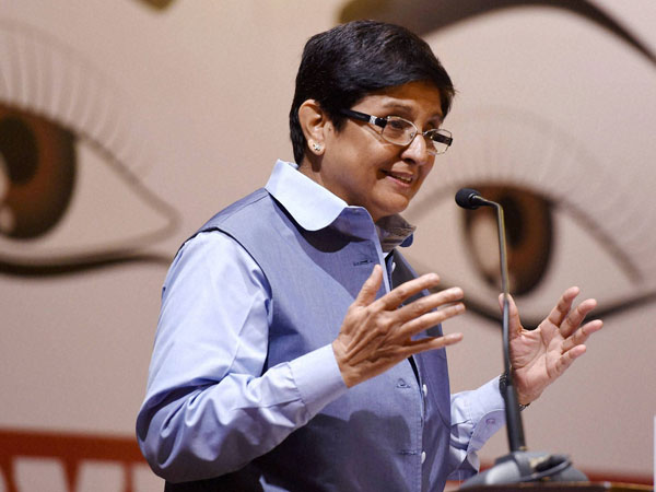 Former IPS officer and Puducherry Lt Governor Kiran Bedi