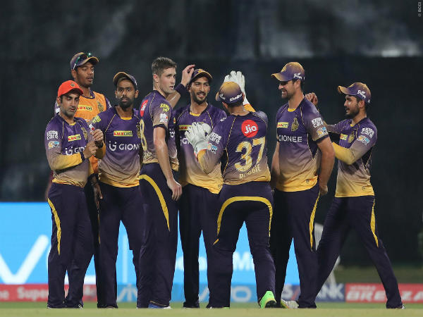 KKR players celebrate (Image courtesy: BCCI)