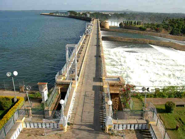 File photo of KRS dam