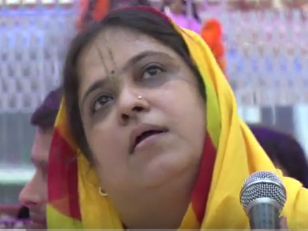 Sadhvi Kamal Didi equates Alwar lynching case accused with Bhagat Singh