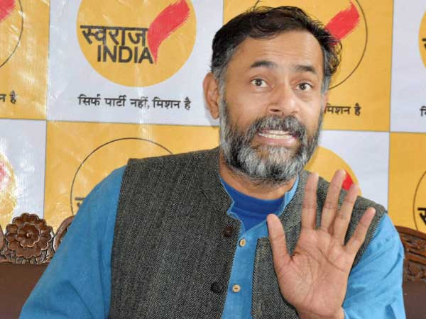 Swaraj India leader Yogendra Yadav