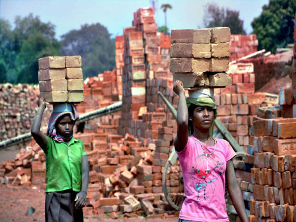 Yes, child labour very much exists