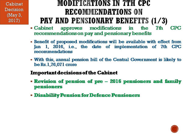 7th Pay Commission: Post Cabinet approval 55 lakh government ...