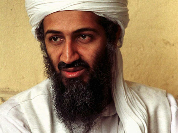 slain Al Qaida chief Osama bin Laden. File photo