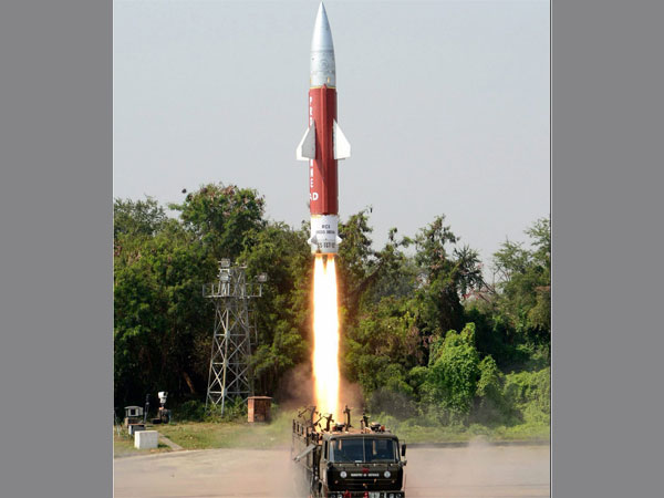 Target Missile used by DRDO