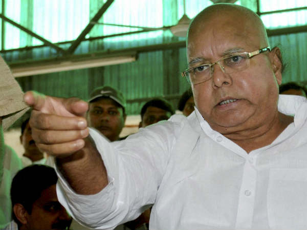 Lalu dared Centre and said he is not afraid of 'government puppets'