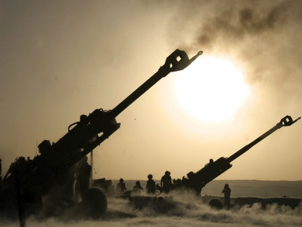 M777 howitzer guns reach Rajasthan's Pokhran for testing