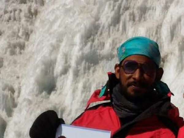 RRavi Kumar went missing after he successfully climbed Mount Everest.