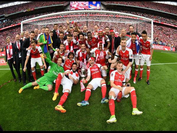 Arsenal beat Chelsea 2-1 to win record 13th FA Cup - Oneindia