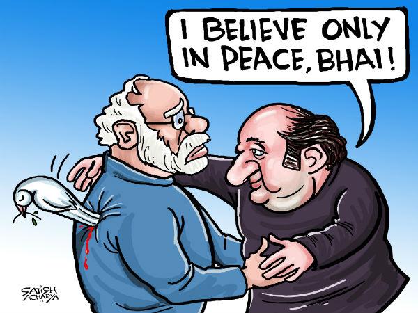 Talk Peace Act War Pakistan Continues To Backstab India