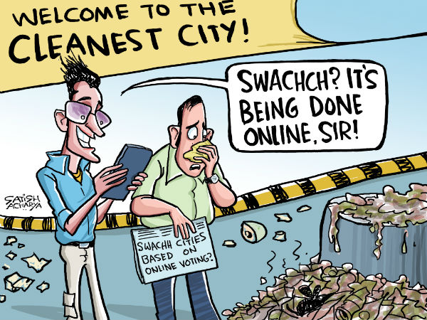Indore has been declared as India's cleanest city by Swachh Survekshan Survey 2017 recently.