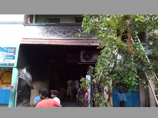 Fire breaks out in apartment, kills 4 including children in Chennai