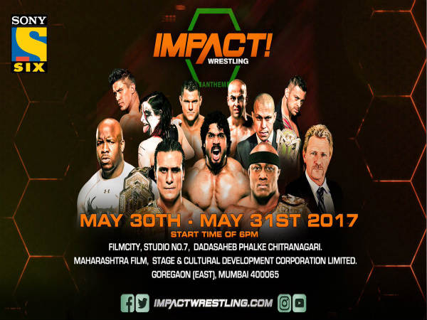 Impact Wrestling announces to host two shows in Mumbai