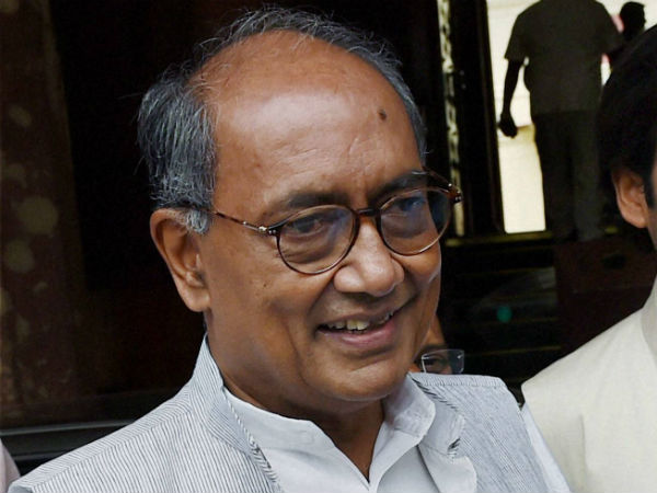 Hyderabad Police registers case against Congress leader Digvijaya Singh