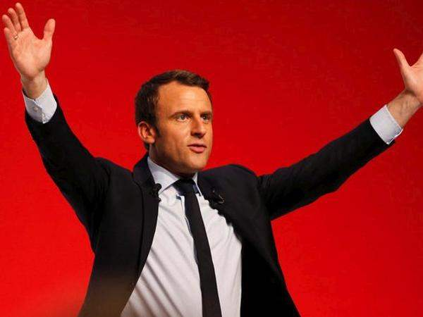 File photo of Emmanuel Macron