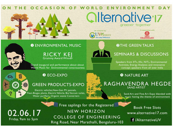 On World Environment day, make a difference with ALTERNATIVE 2017